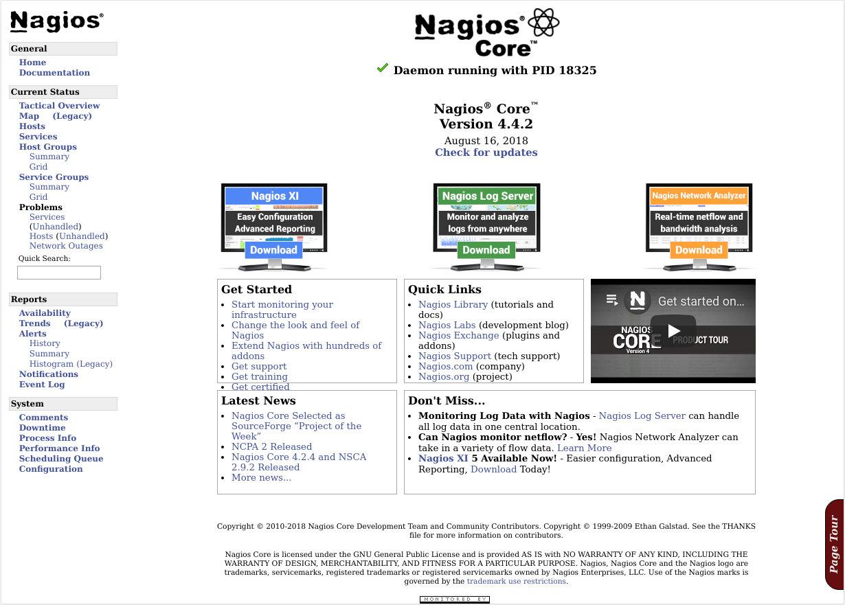 Установите Nagios на Ubuntu