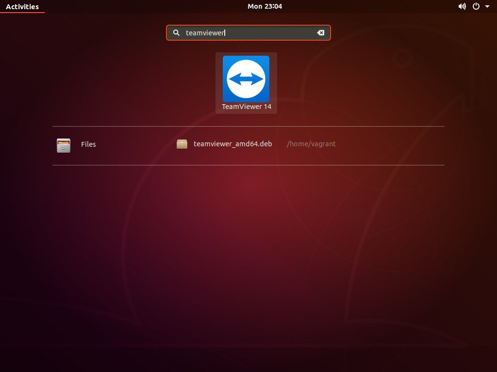Ubuntu Open TeamViewer